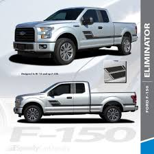 100 Truck Door Decals Ford Side And Stripes ELIMINATOR 3M 20152019 Premium