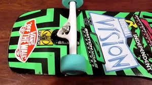 100 Original Vision VISION ORIGINAL VISION ORIGINAL Skateboard VISION DECK Set