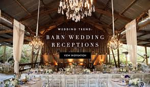 Rustic Reception Wedding Ideas Beautiful Barn Inside