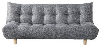 florence sofabed klik klak knit and gray full modern futons