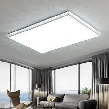 moderne decke licht schlafzimmer kristall beleuchtung