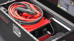 100 Tow Truck Jumper Cables VoltMateGo Jump Starter And Power Supply Box