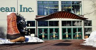 The L L Bean Freeport Maine Store
