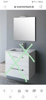 badezimmer spiegel 60x60 cm mit le hornbach