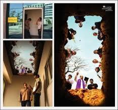 smoking room ceiling mural