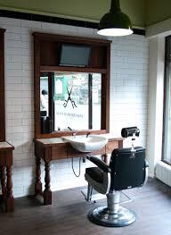 barbers cutting station jr mens barber shops pinterest