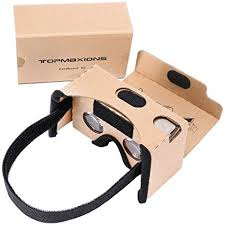 Google CardboardTopmaxions 3D VR Virtual Reality DIY Headset For Movies And Games