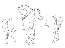 Spirit And Rain Horse