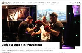 wiesbaden lebt bericht zum beats and boxing event mit dem