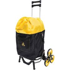 Upcart Stair Climbing Hand Truck With Bag - Domestify