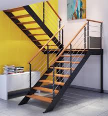 escalier métal à limons latéraux sur mesure escaliers escaliers