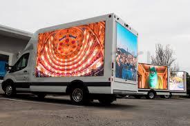 100 Truck Advertising Spark Videotrucks LED Video Promotional Vehicles Mobile Billboard