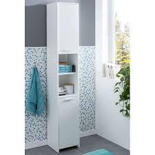 wohnling badschrank modern holz 30 5 x 190 x 30 cm weiß