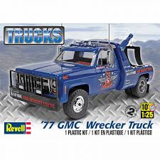 Revell Of Germany REV7220 1977 GMC Wrecker Truck 1/25 Scale Plastic ... Revell Peterbilt 359 Cventional Tractor Semi Truck Plastic Model Free 2017 Ford F150 Raptor Models In Detroit Photo Image Gallery Revell 124 07452 Manschlingmann Hlf 20 Varus 4x4 Kit 125 07402 Kenworth W900 Wrecker Garbage Junior Hobbycraft 1977 Gmc Kit857220 Iveco Stralis Amazoncouk Toys Games Trailer Acdc Limited Edition Gift Set Truck Trailer Amazoncom 41 Chevy Pickup Scale 1980 Jeep Honcho Ice Patrol 7224 Ebay Aerodyne Carmodelkitcom