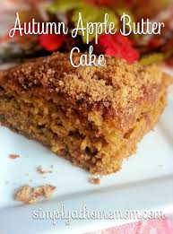 Autumn Apple Butter Cake recipe Simply At Home Mom