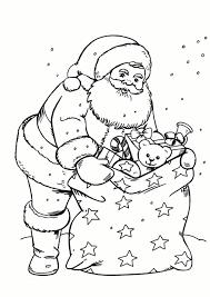 Coloriage De Père Noel Gratuit Bondless