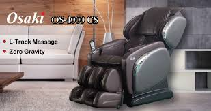 Osaki Massage Chair Os 4000 by Osaki Os 4000 Cs