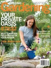 Organic Gardening Magazine ly $4 99 A Year