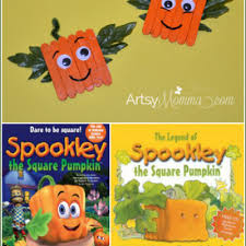 Spookley The Square Pumpkin Book Amazon by Wood Craft Stick Ideas