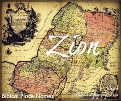 Zion Is A Hebrew Name Meaning Highest Point It Used In The