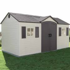Lifetime 10x8 Shed Assembly by Lifetime Plastic Apex Shed 15x8 Garden Street
