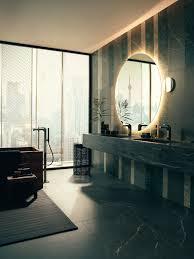 italienische geometrie für das badezimmer modern building