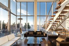 100 Blue Sky Lofts Photos NYC Glass Penthouse Axe Lives In On Billions