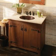 Bathrooms DesignAmericana Reclaimed Wood Bath Vanity Country Bathroom Vanities Single Cabinets Chestnut Finish Amazing