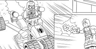 Free Coloring Pages Of Lego Spiderman