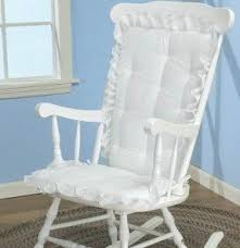 Light Gray Rocking Chair Cushions by Shabby Chic Chairs Foter