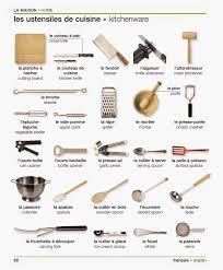 vocabulaire de la cuisine les ustensiles de cuisine 2017 et vocabulaire images doperdoll com