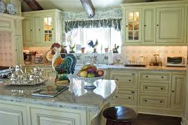Nice Cabinet Yellow Island Stunning Blue And Country Kitchen