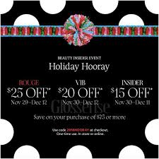 SEPHORA CANADA PROMO CODE: 2018 'Holiday Hooray' Beauty Insider ... Pencil By 53 Coupon Code Penguin Mens Clothing Glossybox Advent Calendar 10 Off Coupon Hello Subscription Makeupbyjoyce Swatches Comparisons Nars Velvet Matte Seadog Architectural Tour Hottie Look Coupons Promo Discount Codes Wethriftcom Wwwcarrentalscom With Beauty Purchase Saks Fifth Avenue Dealmoon Sarah Moon Lipstick Rouge Indisecret Lip Nars Available Now Full Spoilers Cosmetics The Official Store Makeup And Skincare