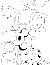 This Cute Coloring Book Page Check Out These Similar Catadventure Time Wrapcircular Disableexcerptdatemorevisit