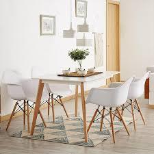 esstisch mit 4 stühlen weiß esszimmer essgruppe real de