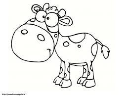20 Dessins De Coloriage Vache Rigolote à Imprimer