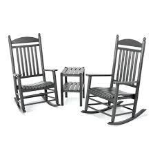 Rocker Cushions Reviews Rocking Chairs Presidential Chair ... Polywood Pws11bl Jefferson 3pc Rocker Set Black Mahogany Patio Wrought Iron Rocking Chair Touch To Zoom Outdoor Cu Woven Traditional That Features A Comfortable Curved Seat K147fmatw Tigerwood With Frame Recycled Plastic Pws11wh White Outdoor Resin Rocking Chairs Youll Love In 2019 Wayfair Wooden All Weather Porch Rockers Vermont Woods Studios