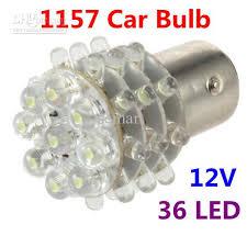 2018 1157 car bulb 2w 12v 36 led 190 lumen white car light led car