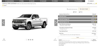 Build Your Own 2019 Chevy Silverado 1500: Here's How You Can Spend ...