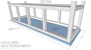 sit pretty 10 diy bench projects diy shoe storage shoe storage