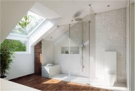 moderne deko idee bäder unter dachschrä gemütlich on