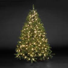 6ft Christmas Tree With Decorations by Shapely Warm Lights Led Balsam Fir Artificial Tree Also Warm As