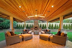 Covered Patio Designs in the Backyard