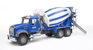 Bruder - 02814 | Construction: MACK Granite Cement Mixer – Castle Toys
