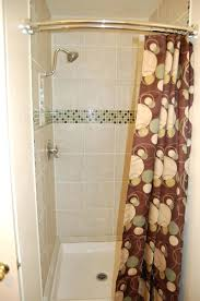 Walmart Curtain Rods Canada by Shower Curtains Rounded Shower Curtain Rod Bathroom Inspirations