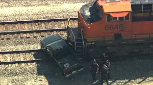 100 Train Vs Truck UPDATE No Serious Injuries In Norman Train Vs Truck Accident Near