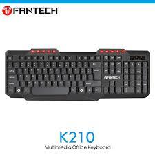 pc bureau apple fantech k210 114 key wired usb 2 0 pc office keyboard for pc apple
