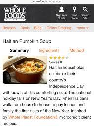Haitian Pumpkin Soup Vegetarian by Haitian Businesses U2013 Soup Joumou History And Recipe