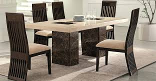 Marble Dinner Table Dining Room Furniture And Chairs Ebay