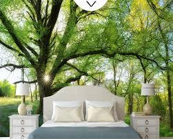 beibehang natürliche sonnenschein wald baum schöne foto 3d tapete schlafzimmer wohnzimmer hintergrund tapete für wände 3 d